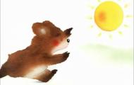 太阳哪里去了:flash课件制作