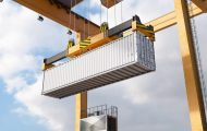 码头商业贸易三维建筑漫游动画