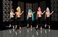 初音角色跳舞:3d角色动画制作