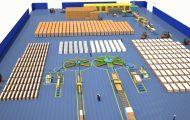 流水线生产系统原理演示动画