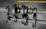 机械齿轮三维演示动画