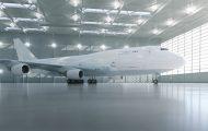 飞机零件组装三维动画视频制作