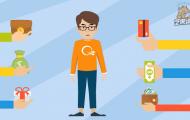 信用卡APP宣传mg动画短片