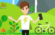旅游景点宣传APP动画视频